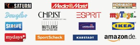 ShoppingCard Akzeptanzpartner: